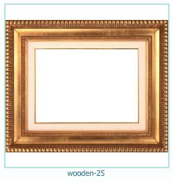 लकड़ी के फोटो फ्रेम 25