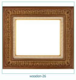 लकड़ी के फोटो फ्रेम 26