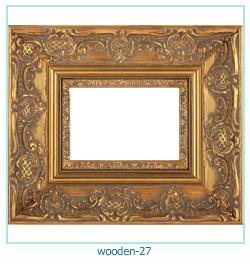 लकड़ी के फोटो फ्रेम 27