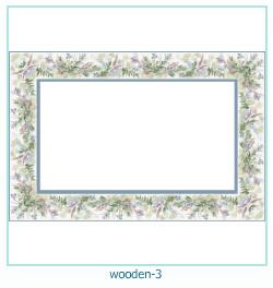 Marco de fotos de madera 3