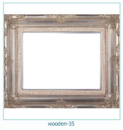लकड़ी के फोटो फ्रेम 35