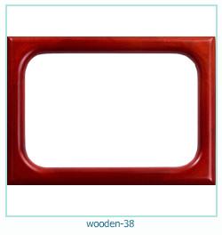 Photo cadre en bois 38