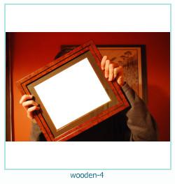 लकड़ी के फोटो फ्रेम 4