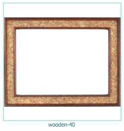 Photo cadre en bois 40