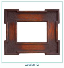 Photo cadre en bois 42