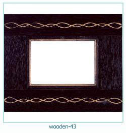 लकड़ी के फोटो फ्रेम 43