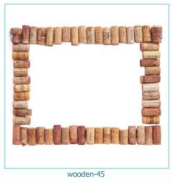लकड़ी के फोटो फ्रेम 45