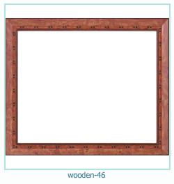 लकड़ी के फोटो फ्रेम 46