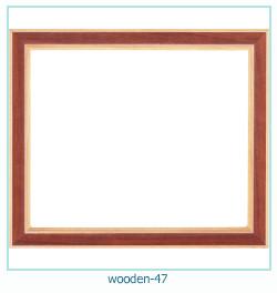 Marco de fotos de madera 47