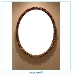 लकड़ी के फोटो फ्रेम 5