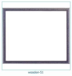 लकड़ी के फोटो फ्रेम 51