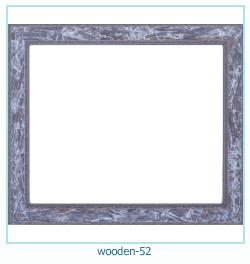 Marco de fotos de madera 52