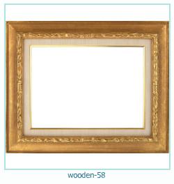 लकड़ी के फोटो फ्रेम 58