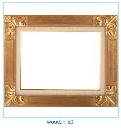 लकड़ी के फोटो फ्रेम 59
