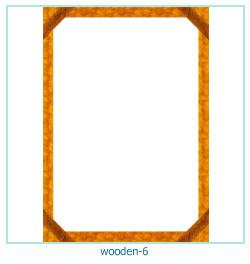 Marco de fotos de madera 6