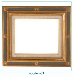 लकड़ी के फोटो फ्रेम 61