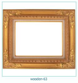 लकड़ी के फोटो फ्रेम 63
