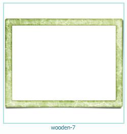 लकड़ी के फोटो फ्रेम 7
