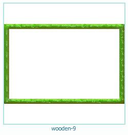 लकड़ी के फोटो फ्रेम 9